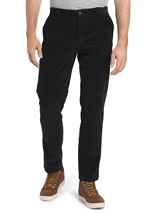 IZOD Straight Fit Stretch Corduroy Pants
