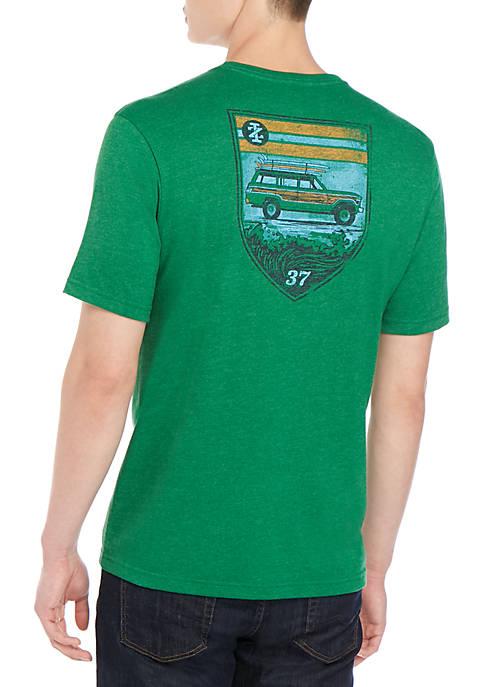 IZOD Saltwater Graphic T Shirt