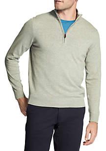 IZOD Premium Essentials Quarter Zip Sweater