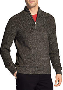 Newport Marled Quarter Zip Sweater