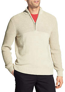 Newport Marled Quarter Zip Sweater