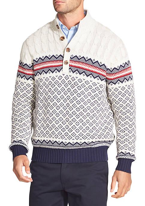 IZOD Fair Isle Sweater
