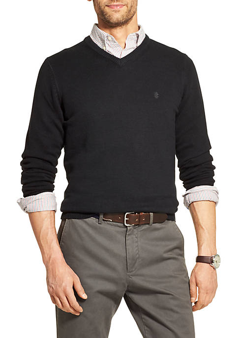 IZOD Premium Essentials V-Neck Sweater
