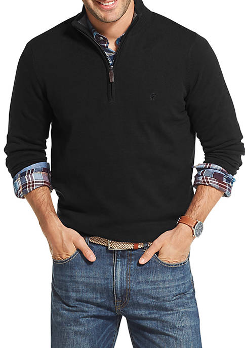 IZOD Premium Essentials 1/4 Zip Sweater