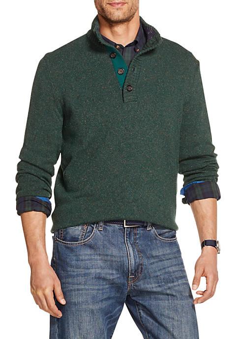 IZOD Premium Essentials Button Sweater