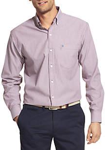 Long Sleeve Stretch Stripe Shirt