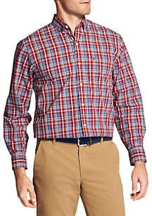 Premium Essentials Stretch Long Sleeve Button Down Shirt