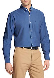 IZOD Solid Oxford Shirt