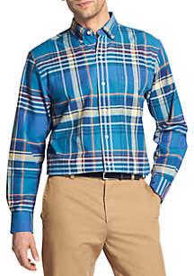 Large Plaid Oxford Shirt