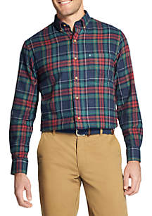 Flannel Long Sleeve Button Down Shirt