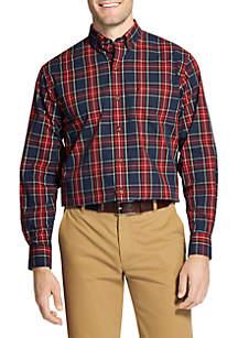 Tartan Long Sleeve Button Down Shirt