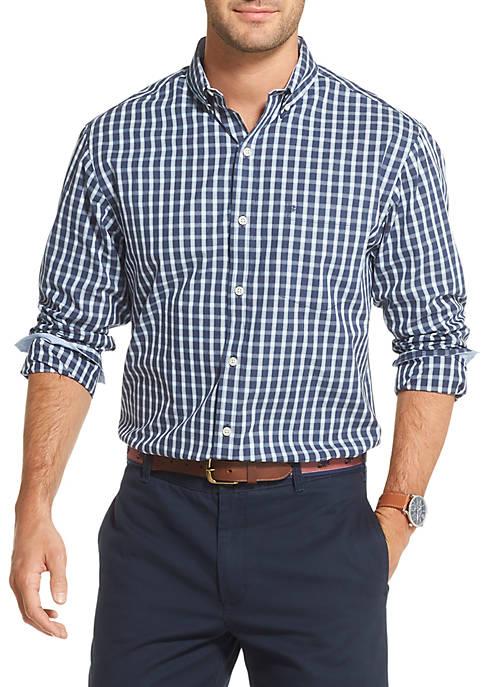 IZOD Saltwater Plaid Button Down Shirt