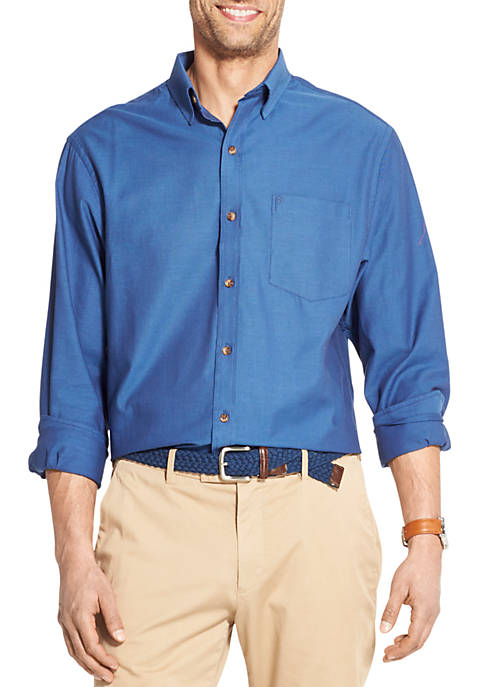 IZOD Premium Essentials Button Down Shirt