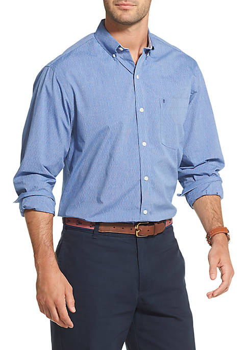 Premium Essentials Striped Button Down Shirt