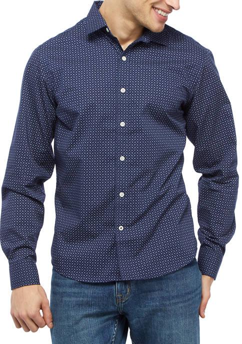 IZOD Saltwater Button-Down Shirt
