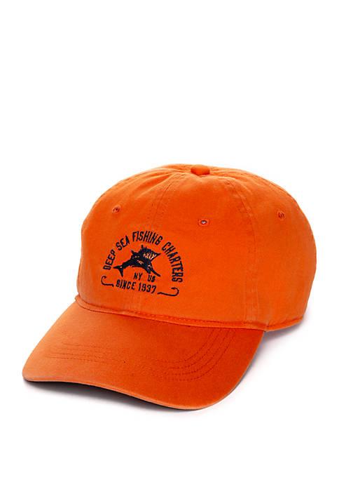 IZOD Deep Sea Fishing Ball Cap