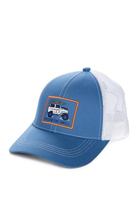 Jeep Patch Trucker Hat
