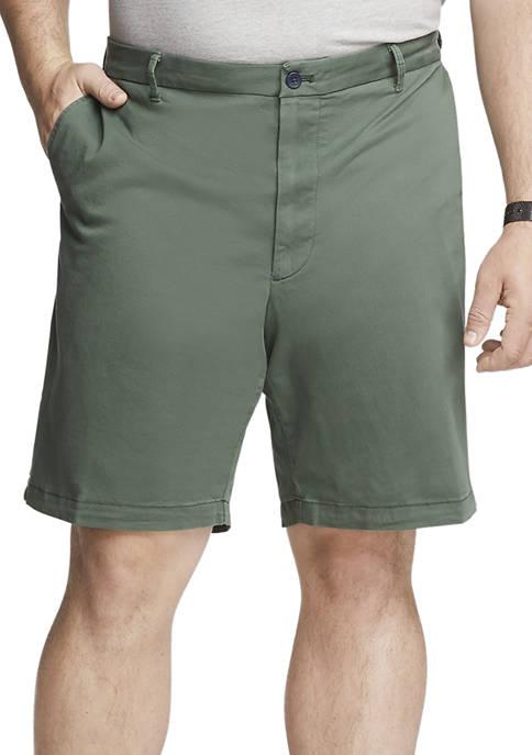 IZOD Big & Tall Saltwater Twill Shorts