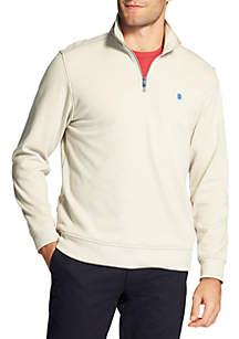 Big & Tall 1/4 Zip Long Sleeve Advantage Sweater