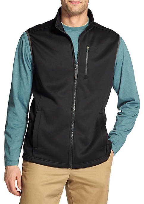 IZOD Big & Tall Spectator Fleece Vest