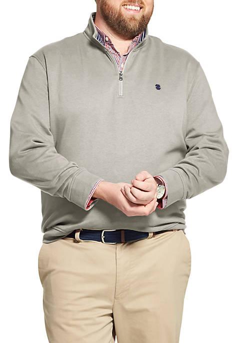 Big & Tall Advantage Performance Fleece Quarter Zip Pullover