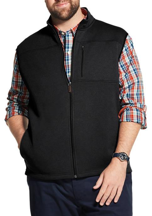 IZOD Big & Tall Advantage Performance Sweater Fleece