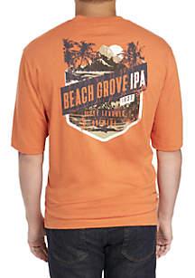 Big & Tall Short Sleeve Beach Grove IPA Tee