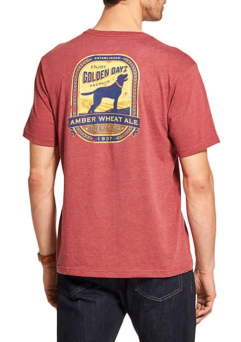 Big & Tall Golden Daze Dog T Shirt