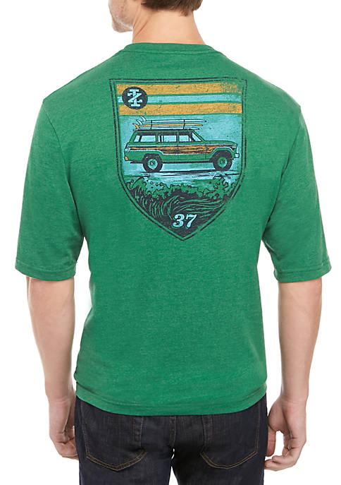 Big & Tall Short Sleeve Woodie Truck T-Shirt