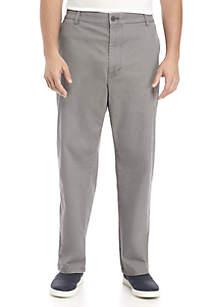 Big & Tall Flat Front Stretch Chino Pants