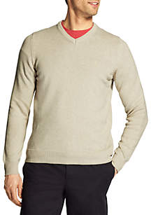 Big & Tall Premium Essentials Long Sleeve V-Neck Sweater