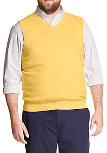 Big & Tall Premium Essentials Sweater Vest