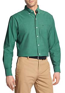 Big & Tall Long Sleeve Saltwater Oxford Button Shirt
