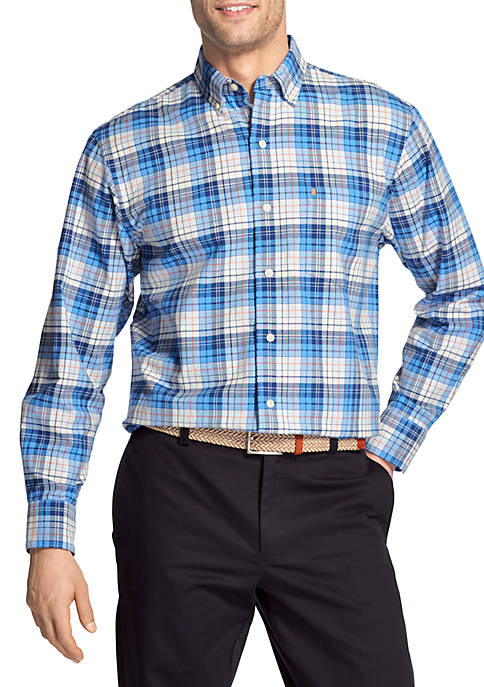 IZOD Big & Tall Long Sleeve Saltwater Newport