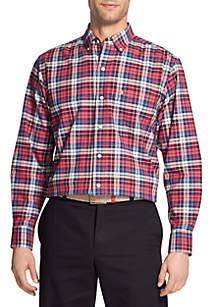 Big & Tall Long Sleeve Saltwater Newport Oxford Shirt