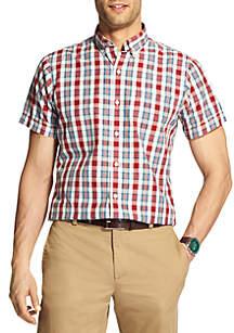 Big & Tall Breeze Short Sleeve Button Down Shirt