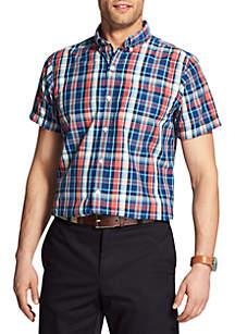 Short Sleeve Medium Plaid Breeze Shirt