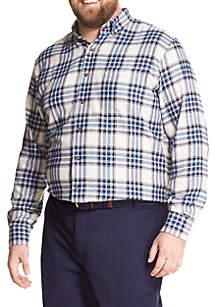 Big & Tall Flannel Sportswear Shirt