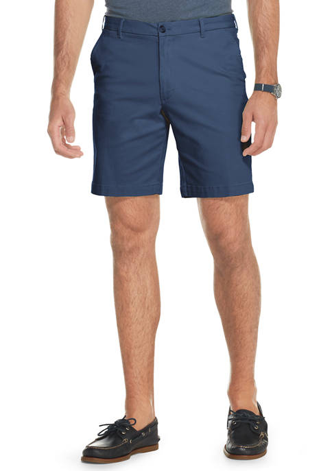 IZOD Big & Tall Saltwater Stretch Chino Shorts