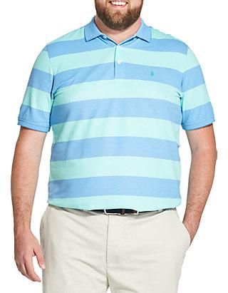 87e8e7813 IZOD Big & Tall Advantage Performance Striped Polo Shirt | belk