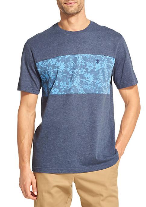 IZOD Big & Tall Saltwater Colorblock T-Shirt