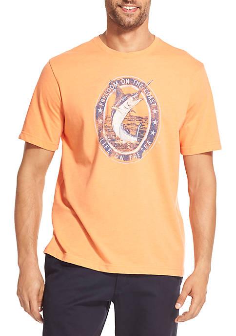 IZOD Big & Tall Graphic T Shirt