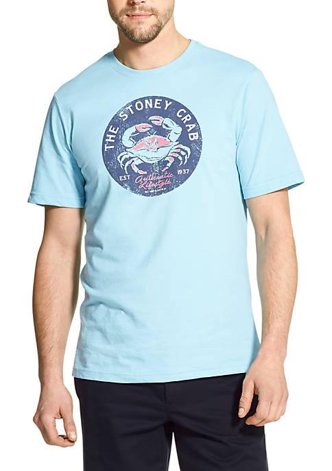 Big & Tall Stoney Crab Graphic T-Shirt