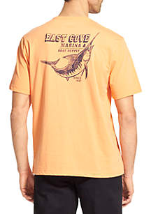 IZOD Big & Tall Marlin Graphic T Shirt