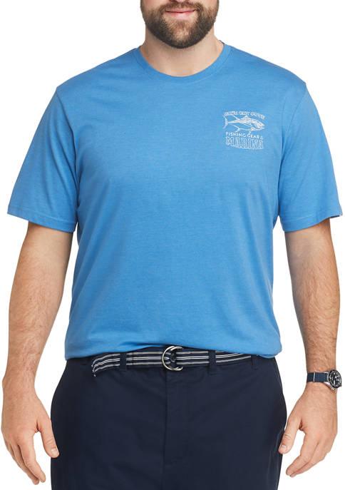 Big & Tall Saltwater Graphic T-Shirt