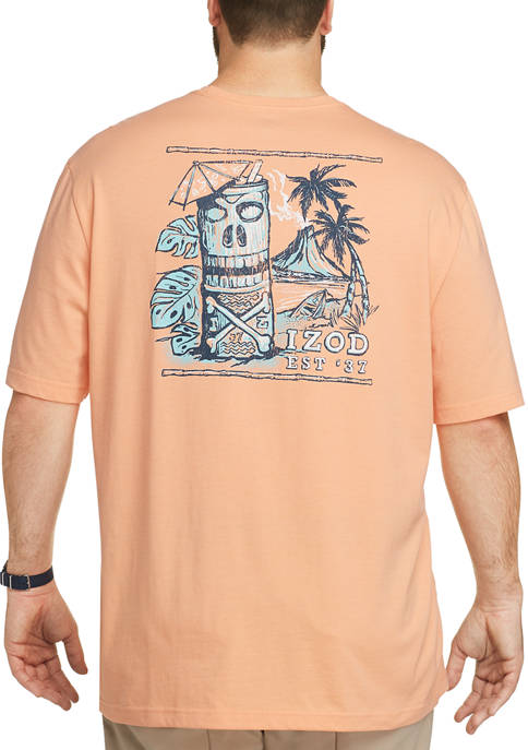 IZOD Big & Tall Saltwater Graphic T-Shirt
