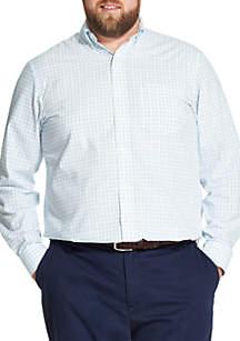 Big & Tall Premium Essentials Plaid Button Down Shirt
