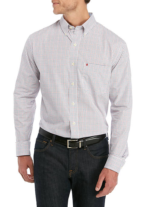 Big & Tall Long Sleeve Premium Poplin Shirt