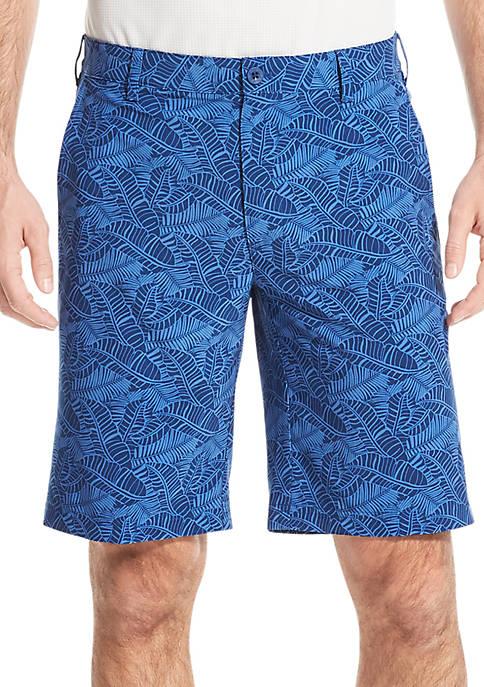 IZOD Golf Swing Flex Printed Shorts
