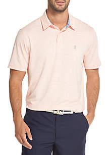 Greenie Stripe Short Sleeve Polo Shirt